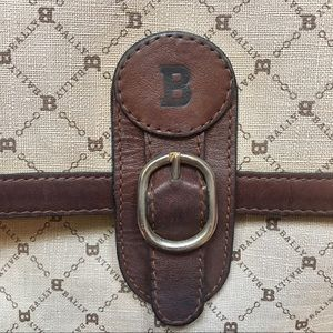 Bally Bags - Vintage Coated Canvas Bally Purse